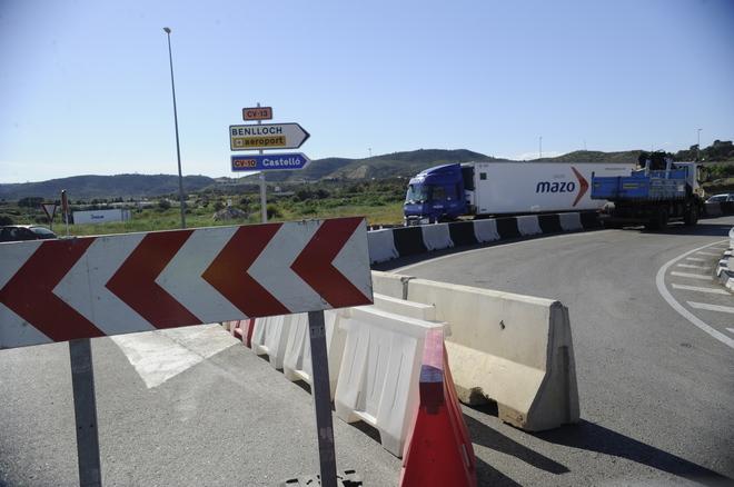 El consell inicia obras de urgencia en la cv 13 entre - El tiempo en torreblanca castellon ...