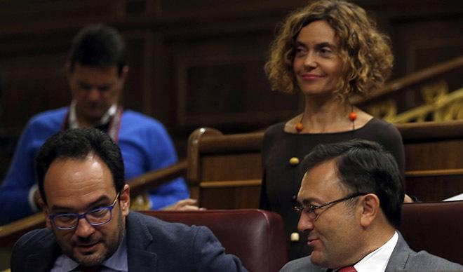 """El secretario del PSOE en el Congreso: """"Hay que disolver el PSC"""""""