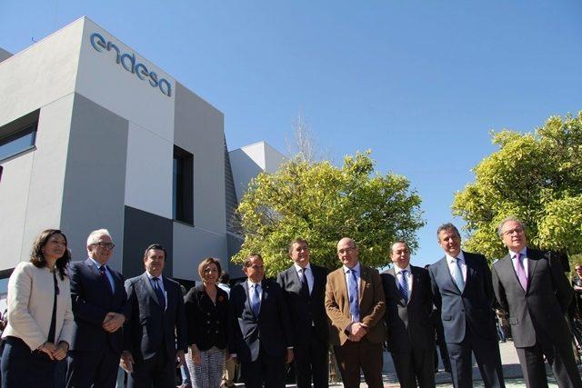 inaugurada la nueva sede de endesa en c rdoba andalucia