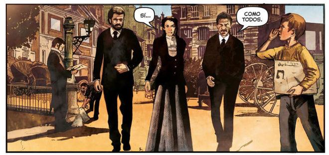 Una de las viñetas del cómic 'Tiempo al tiempo'.