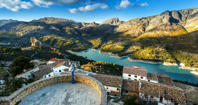 Resultado de imagen de Valle de Guadalest