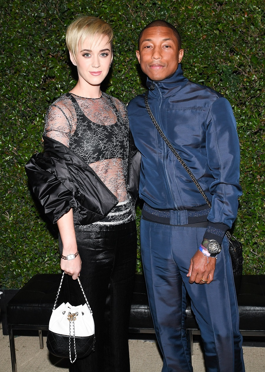 Katy Perry y Pharrell Williams