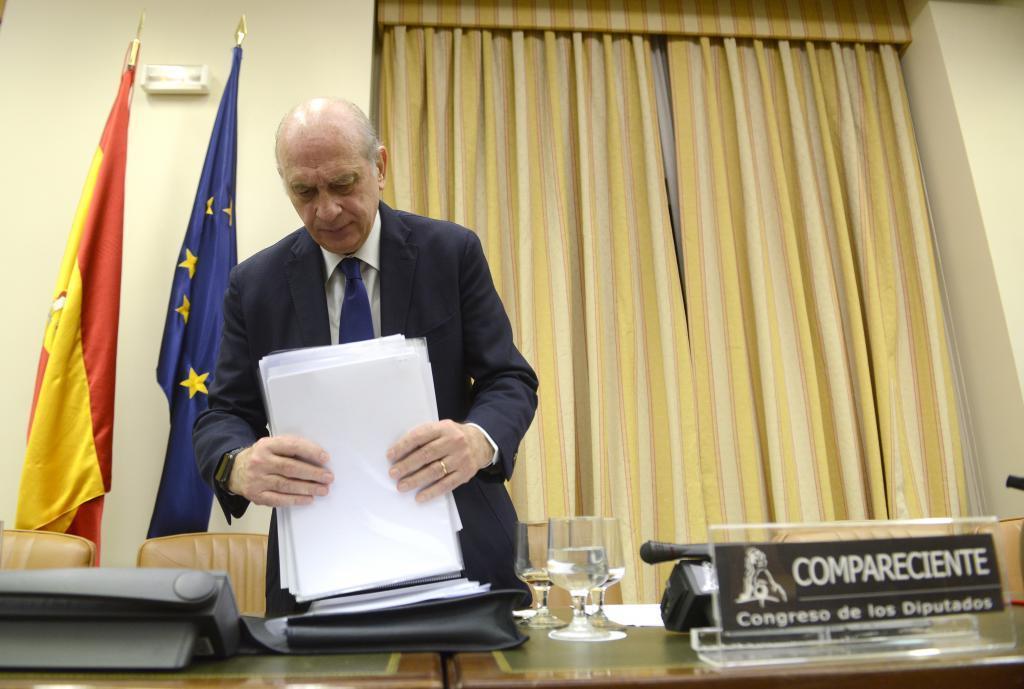 El ex ministro del Interior, el pasado abril en la Comisi