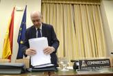 El ex ministro del Interior, el pasado abril en la Comisión de...