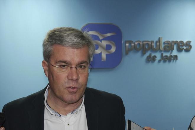 José Enrique Fernández de Moya, presidente del PP de Jaén.