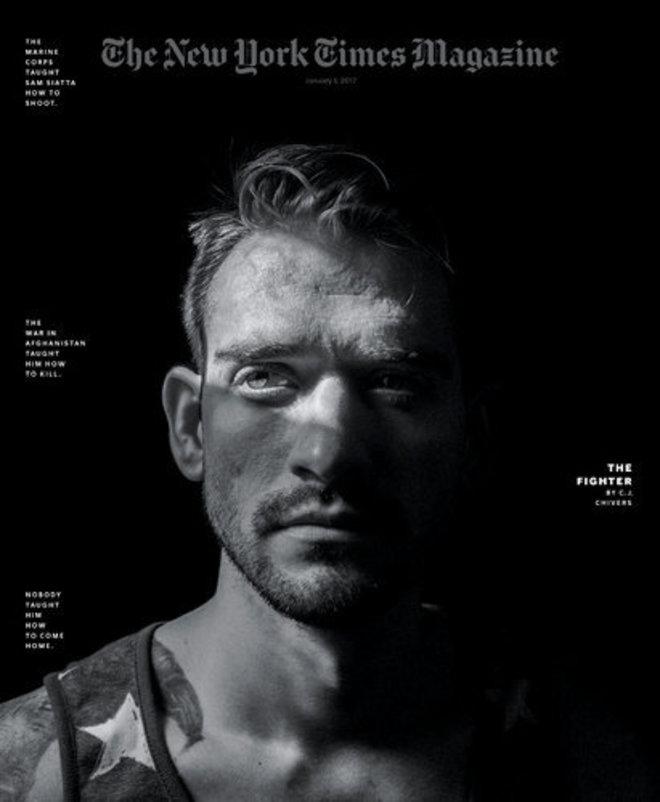 Uno de los reportajes premiados al New York Times