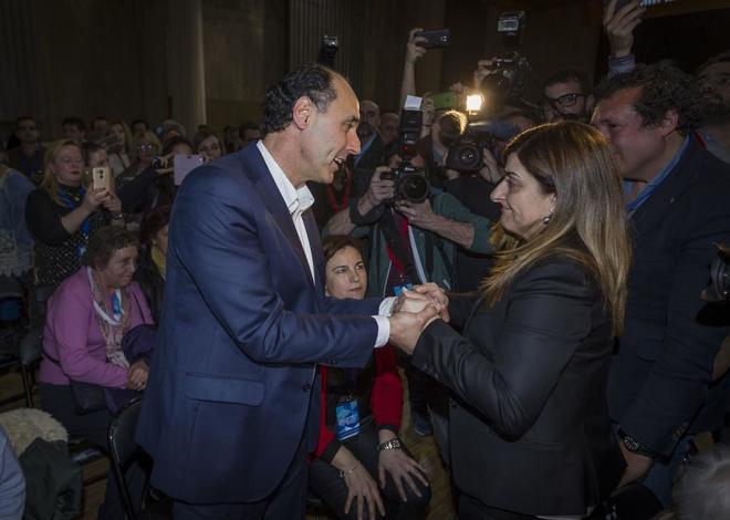 El ex-presidente del Partido Popular en Cantabria Ignacio Diego...