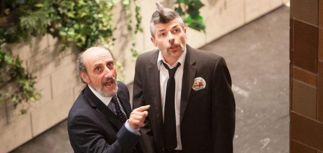 José Luis Gil (izqda.) y Nacho Guerreros.