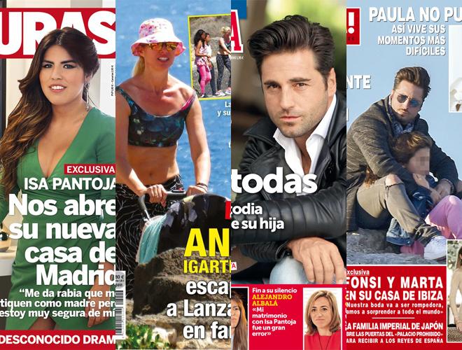 Portadas de las revistas de este miércoles.