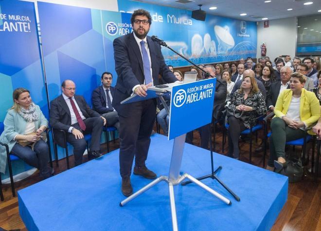 Fernando López Miras habla tras el anuncio de la dimisión de Pedro...