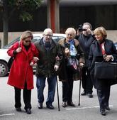 José Ángel Fernández Villa, a su llegada al juzgado de Oviedo donde...