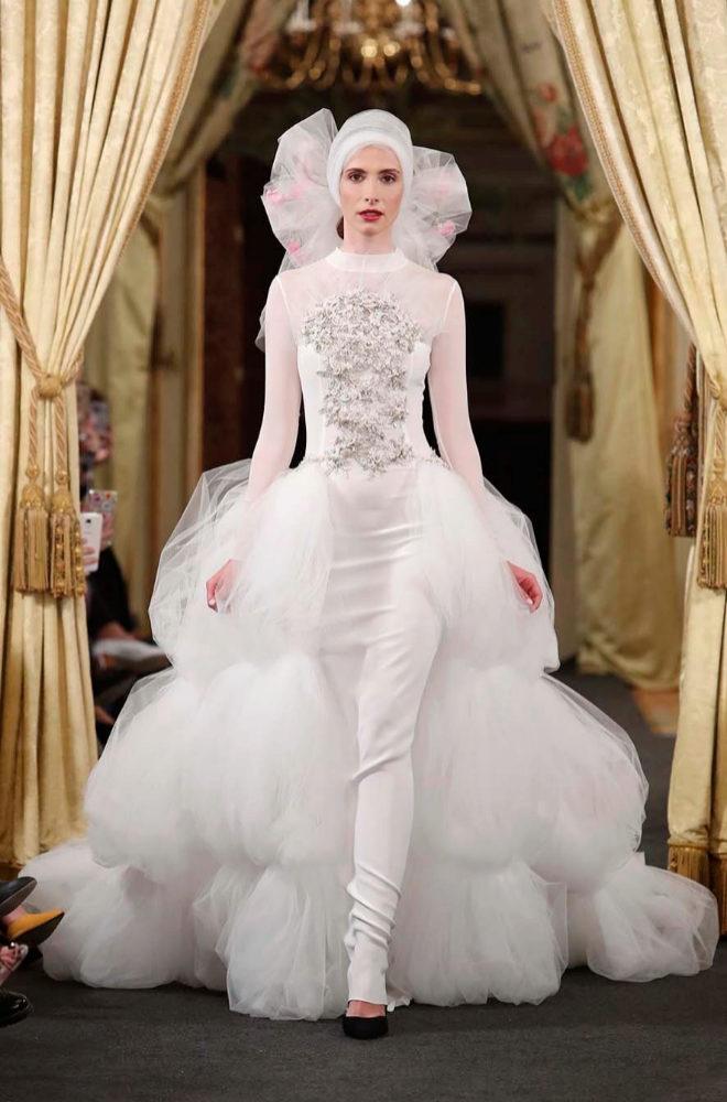 Uno de los diseños de Fernando Claro para novia.