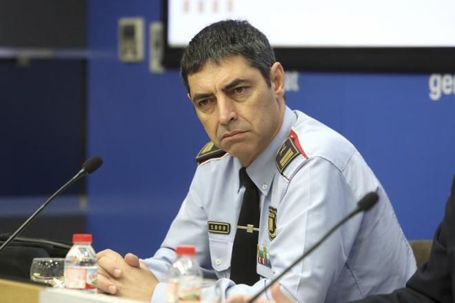 El comisario jefe de Mossos Josep Lluis Trapero en una foto de archivo.