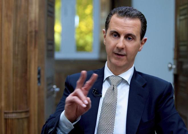 Bashar al-Asad, entrevistado el pasado miércoles en Damasco.