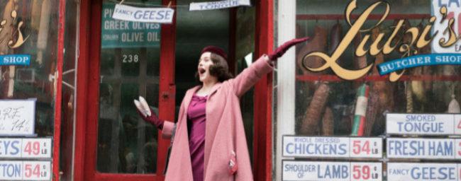 Rachel Brosnahan, en 'The Marvelous Mrs. Maisel'.