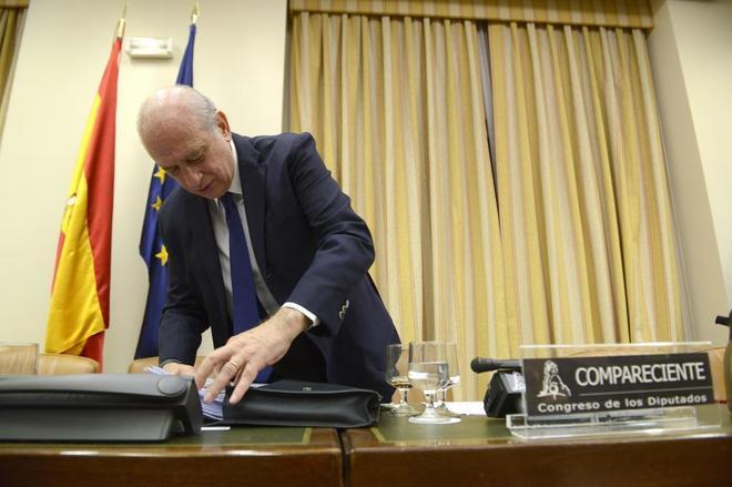 Jorge Fernández Díaz, en la Comisión de Investigación en el...