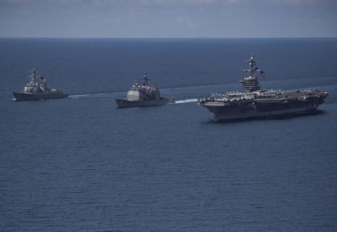 La Armada contra Corea del Norte que nunca existió