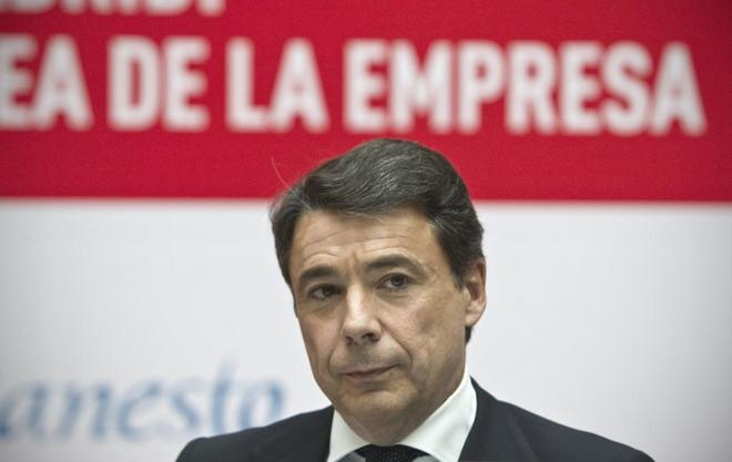 El ex presidente de la Comunidad de Madrid Ignacio González, en un...