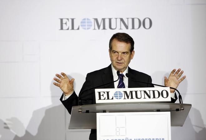El alcalde de Vigo, el socialista Abel Caballero, en su intervención en el Foro de EL MUNDO.