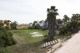 El solar de la urbanización La Pepina, en Marbella.