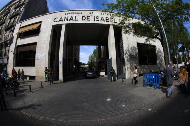 La sede del Canal de Isabel II en Madrid.