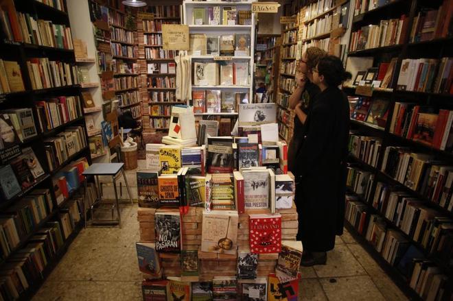 Una librería, en una imagen de archivo