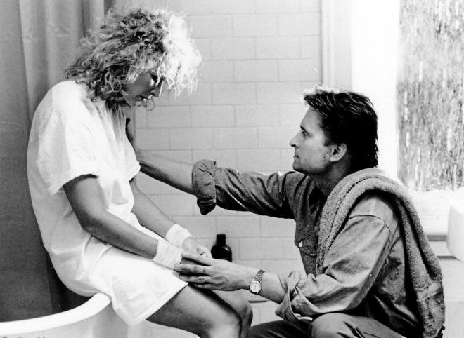 Imagen de la película 'Atracción fatal', protagonizada por...