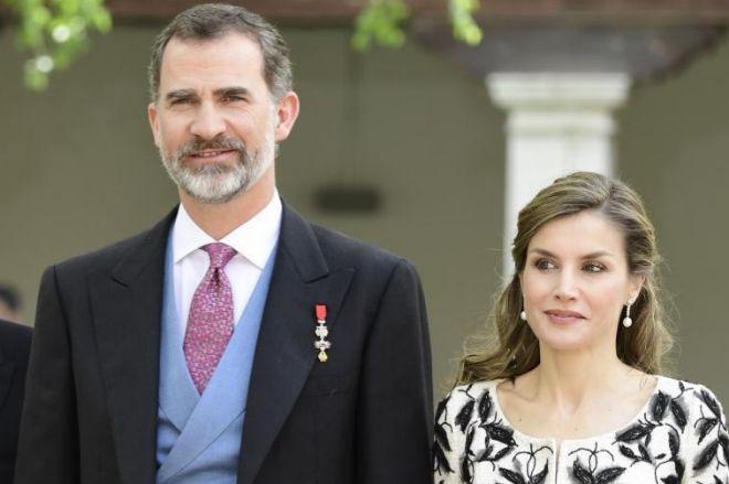 Los Reyes de España Don Felipe VI y Doña Letizia