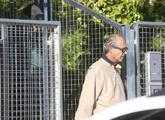 Edmundo Rodríguez Sobrino, a la salida de Tres Cantos (Madrid), rumbo...