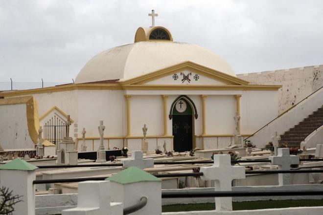 Imagen del Panteón Militar del cementerio de Melilla donde reposan...