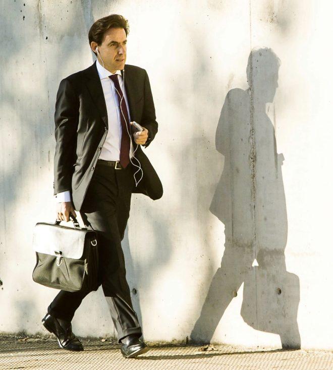 El empresario Javier López Madrid, dirigiéndose a la Audiencia...