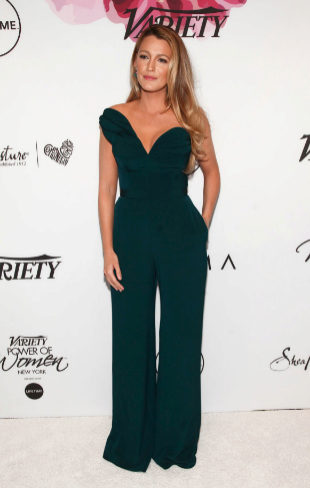 Blake Lively, en la gala Variety's Power of Woman