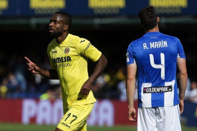 La mano de Cédric Bakambu salva al Villarreal CF