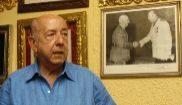 José Utrera Molina, durante una entrevista para EL MUNDO en agosto de...