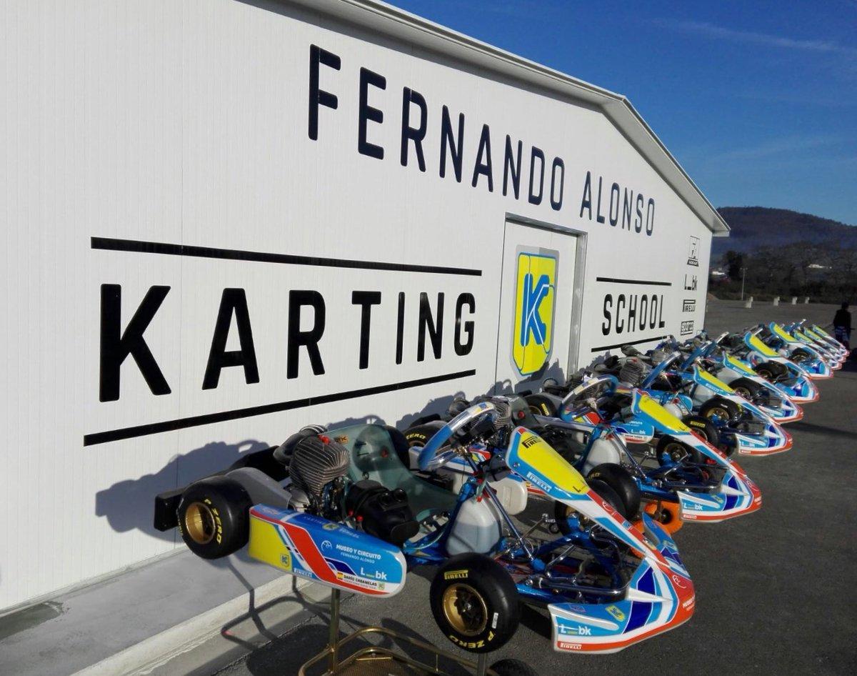 Circuito Karts Fernando Alonso : Muere un piloto alevín tras sufrir accidente en el