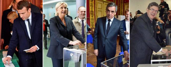 La participación en Francia alcanza casi el 70%, similar a la de 2012