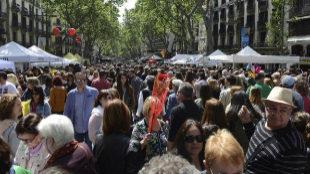 Sant Jordi consagra a Bosch y Aramburu