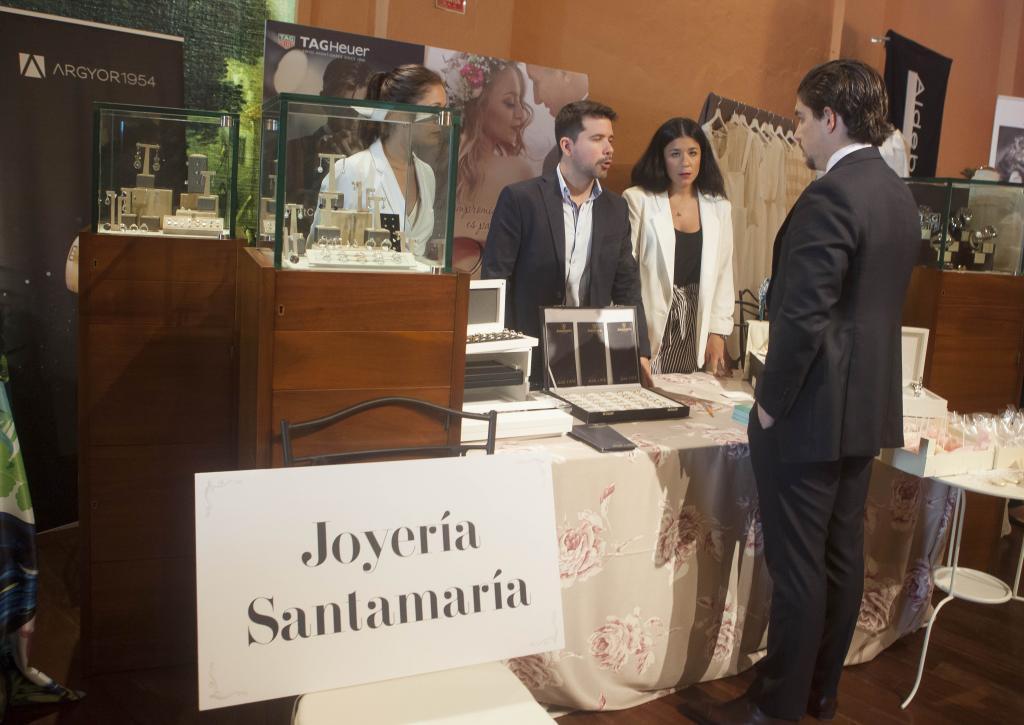 El stand de Joyería Santamaría.