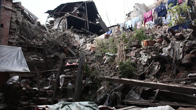 La ciudad de Bhaktapur (en el valle de Katmandú), dos años después del temblor.
