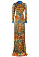 Vestido largo de seda de La Perla (4.200 euros).