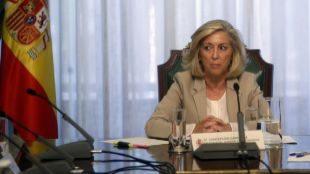 La delegada del gobierno Concepción Dancausa