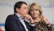Ignacio González y Esperanza Aguirre, juntos en un acto del PP de...