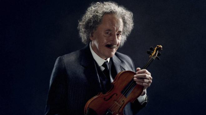 Geoffrey Rush da vida a Albert Einstein en la primera entrega de 'Genius'