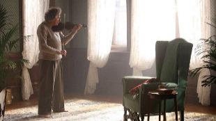 Geoffrey Rush, en el papel de Albert Einstein.