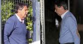 Pablo (izqda.) e Ignacio González, tras ser detenidos por la Guardia...