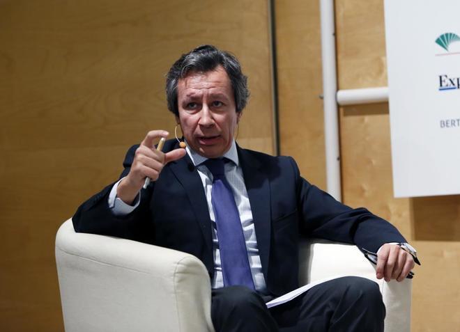 El diputado del PP Carlos Floriano, en un foro el pasado mes de marzo.