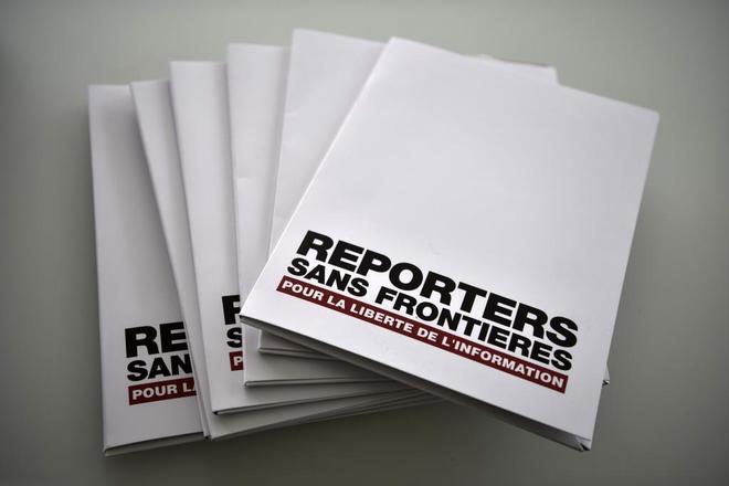 Informe de Reporteros sin Fronteras.