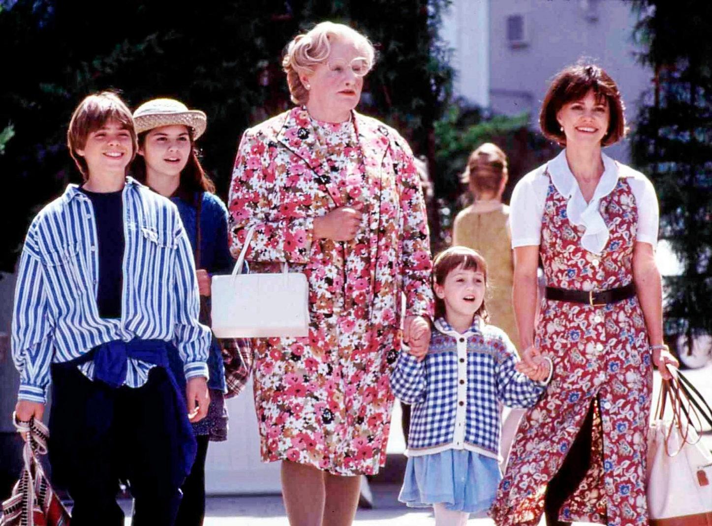 Imagen de la comedia 'Señora Doubtfire', protagonizada por...