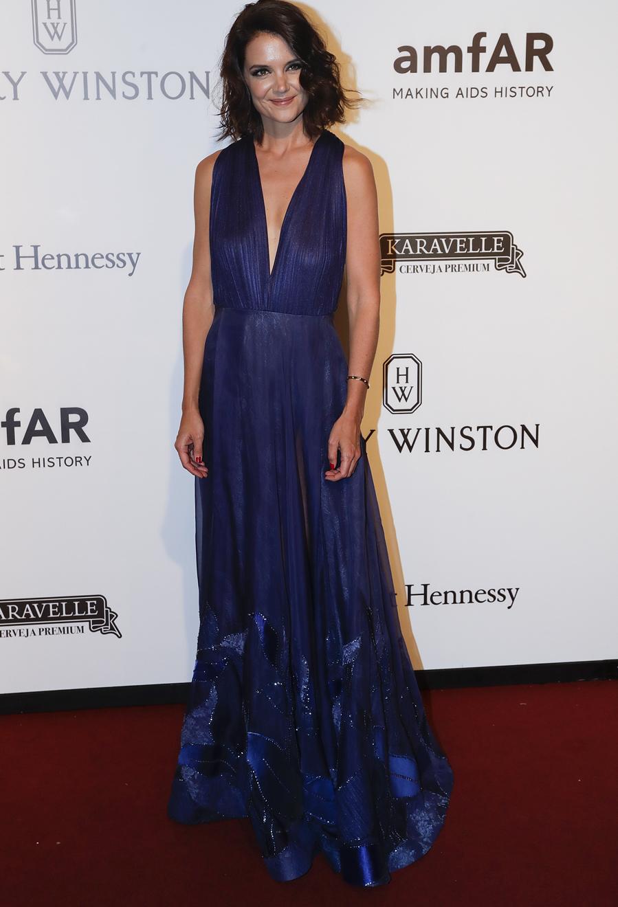 La actriz norteamericana fue la estrella de la alfombra roja con un...