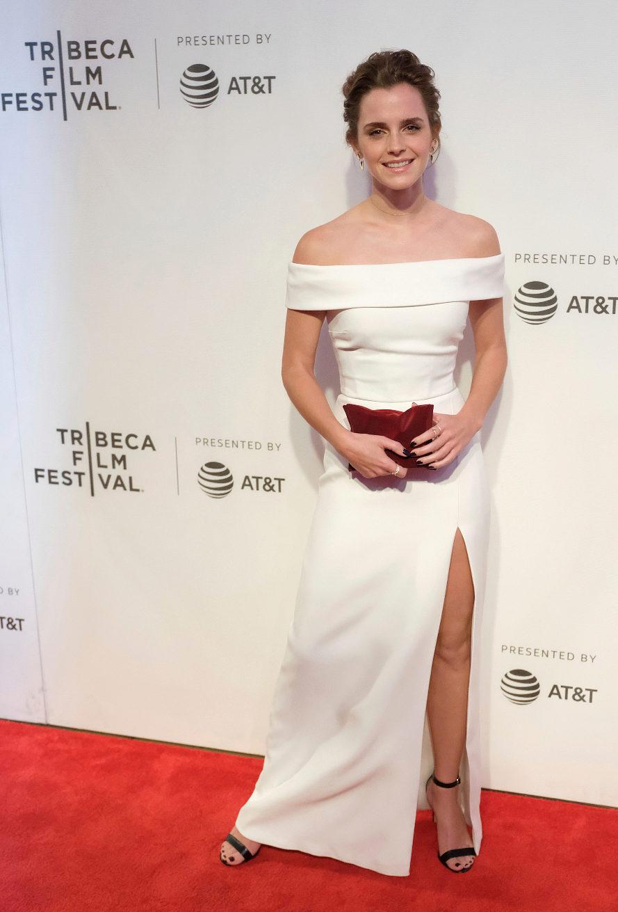 La actriz británica asistió al estreno de su nueva película The...
